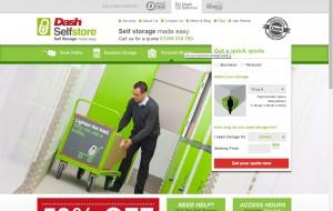 dash selfstore website